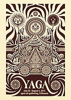 Party Flyer YAGA - Psychedelic Gathering 30 Jul '15, 12:00