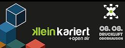 Party Flyer Kleinkariert + Open Air 8 Aug '15, 17:00