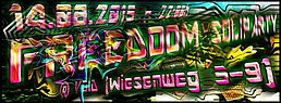 Party Flyer Freedoom Soli Party 14 Aug '15, 22:00