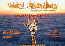 Party Flyer Weird Encounters 21 Aug '15, 22:00