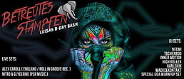 Party Flyer ☆★☆ Betreutes Stampfen ★ Louisa´s B-Day Bash ☆★☆ ALEX CAROLL ☆★☆ NITRO & GLYCERI 22 Aug '15, 22:00