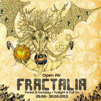Party Flyer FRACTALIA Open Air 2.0 28 Aug '15, 20:00