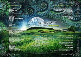 Party Flyer Sundown*Gathering 28 Aug '15, 16:00