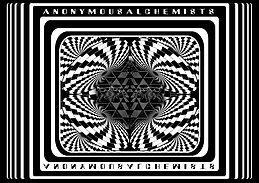 "Party Flyer Anonymous Alchemists presents: ""MegaDelic 34,000"" 4 Sep '15, 22:00"