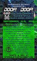 Party Flyer DOOF DOOF!!! Aus Style Bush Party! 4 Sep '15, 18:00