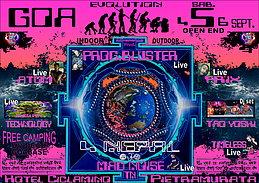 Party Flyer GOA EVOLUTION 4 Sep '15, 22:00