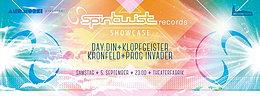Party Flyer PROGGYNATION MÜNCHEN pres. SPINTWIST RECORDS SHOWCASE w. DAY.DIN, KLOPFGEISTER & 5 Sep '15, 23:00