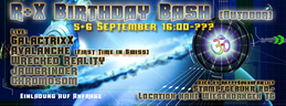 Party Flyer R & X Birthday Bash (Outdoor) 5 Sep '15, 16:00
