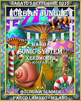Party Flyer uRBaN JuNgLe Round 4 - OPEN AIR & FREE PARTY 5 Sep '15, 22:00