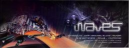 Party Flyer WAVES - AUMENTANDO LAS ONDAS // ChillOut- DarkProg- Forest 5 Sep '15, 22:00