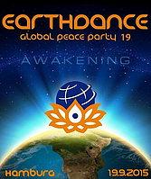 "Party Flyer Earthdance Hamburg ""Awakening"" 19 Sep '15, 22:00"