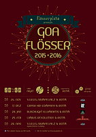 Party Flyer Goalösser - Opening: Renamed CHARITY Goaflösser! 24 Sep '15, 21:00