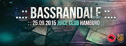 Party Flyer BassRandale // XSI & STRYKER LIVE \\ 25 Sep '15, 23:00
