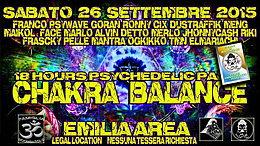 Party Flyer CHAKRA BALANCE 26 Sep '15, 18:00