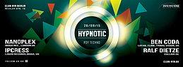 Party Flyer Interferenz - Hypnotic Psy Techno 26 Sep '15, 23:30