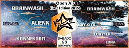 Party Flyer Open Air Via Lactea - Last Edition 2015 26 Sep '15, 23:00