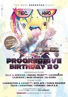 Party Flyer ♫☆- Progressive Birthday 2.0-☆♫ 26 Sep '15, 21:00