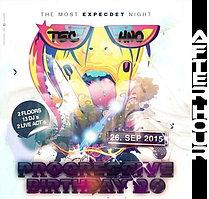 Party Flyer ((( ♫Progressive Birthday 2.0 Afterhour ♫ ))) 27 Sep '15, 05:30