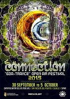 Party Flyer CONNECTION 2015 < Open air GoaTrance Festival > 30 Sep '15, 21:00