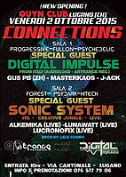 Party Flyer CONNECTIONS 2 Oct '15, 23:30