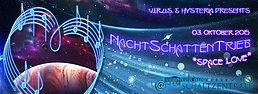 Party Flyer NachtSchattenTrieb *space love* 3 Oct '15, 22:00