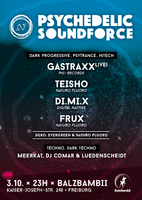 Party Flyer PSYCHEDELIC SOUNDFORCE 3 Oct '15, 23:00