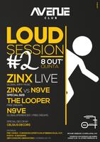 Party Flyer Loud Session #02 8. Okt. 15, 23:30