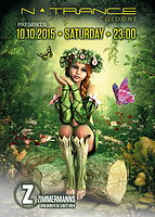 Party Flyer nTrance Cologne @ Zimmermanns 10 Oct '15, 23:00