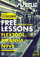 Party Flyer Free Lesson 13. Okt. 15, 23:30