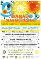 Party Flyer MAKAvA Masquerade ☆ Delighted Timewarp ☆ 17 Oct '15, 23:00