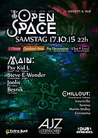 Party Flyer Open Space 17 Oct '15, 22:00