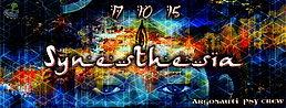 Party Flyer ღ Synesthesia ღ PsyTrance Party 17 Oct '15, 23:00