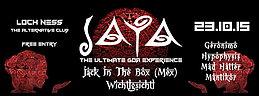 Party Flyer JAYA ॐ The Ultimate Goa Experience ॐ OCT-EDIT 23 Oct '15, 21:00