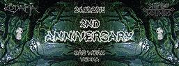 Party Flyer Kodamas 2nd anniversary with Shipibo Sounds 24 Oct '15, 23:00