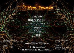 Party Flyer ✰ BOM VOYAGE @ ITW, NDSM ✰ 6 Nov '15, 23:00