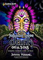 Party Flyer Johnny goes Dark (3 Years special Birthday Edition) 6 Nov '15, 22:00