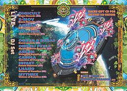 Party Flyer Visions Of Paradise / Dacru Records Label Night 7 Nov '15, 22:00