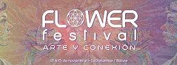 Party Flyer FLOWER FESTIVAL ARTE Y CONEXION 12 Nov '15, 17:00