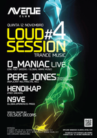 Party Flyer Loud Session #04 12. Nov. 15, 23:30