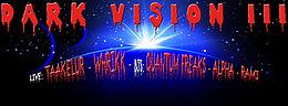 Party Flyer DARK VISION III - Freitag, der 13. 13 Nov '15, 23:00
