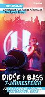 Party Flyer Didge & Bass 7-Jahresjubiläum 13 Nov '15, 22:00