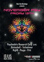 Party Flyer Friday 13th -November PSY 13 Nov '15, 22:00