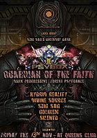 Party Flyer PSYBOX - *** GUARDIAN OF THE FAITH *** - UROBOROS REC. LABEL NIGHT 13 Nov '15, 22:00