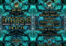 Party Flyer AMARASYA 14 Nov '15, 23:30