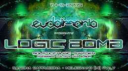 Party Flyer Eudaimonia pres: LOGIC BOMB (anteprima ed esclusiva italiana del nuovo album) 14 Nov '15, 22:30