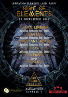 Party Flyer NIGHT OF ELEMENTS 14 Nov '15, 23:00