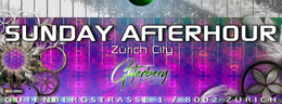 Party Flyer SUNDAY AFTERHOUR - CLUB GUTENBERT - Bahnhof ENGE ZH 15 Nov '15, 12:00