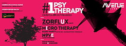 Party Flyer Psy therapy #01 - Micro Therapy birthday party 19. Nov. 15, 23:30