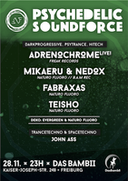 Party Flyer PSYCHEDELIC SOUNDFORCE 28 Nov '15, 23:00