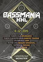 Party Flyer 4.12.2015: Bassmania XXL feat. S.U.N. Project(Y.S.E. rec.) 4 Dec '15, 22:00